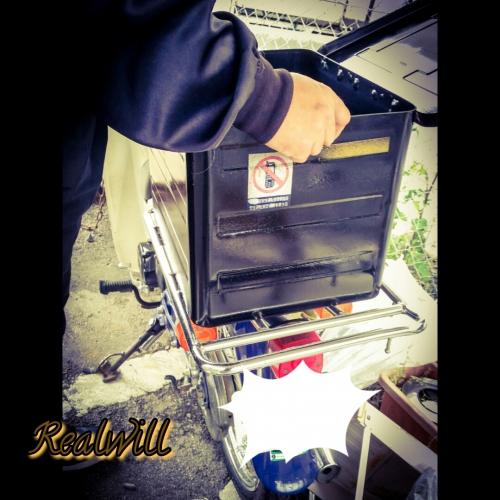 スーパーカブ50のBOXの修理&取り付け