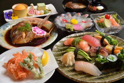 春の旬魚コース 3000円→2400円