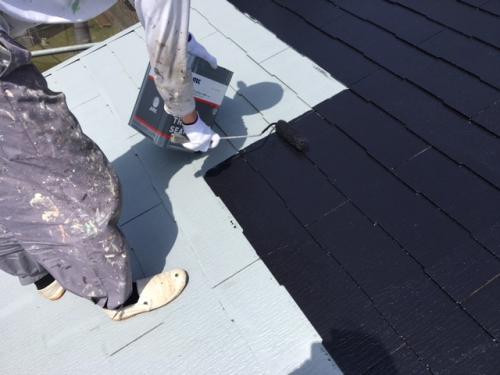 新座市屋根、外壁塗装