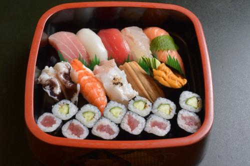 美濃寿司メニュー 満腹寿司 2800円