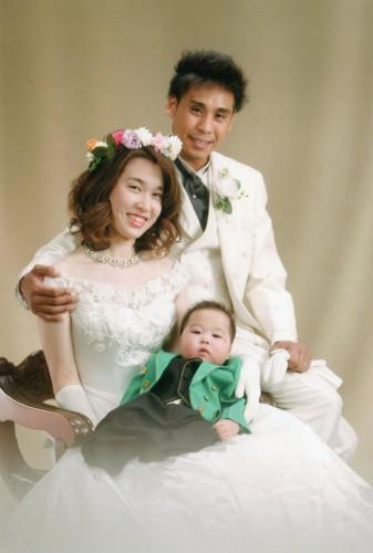 結婚写真:私の成人式の写真を見て主人がここにしよう!と~