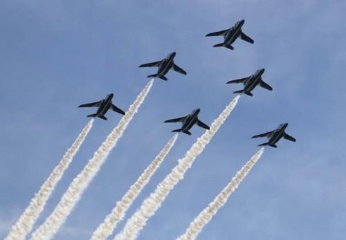 焼津の静浜基地航空祭にインパルスが来ましたね!