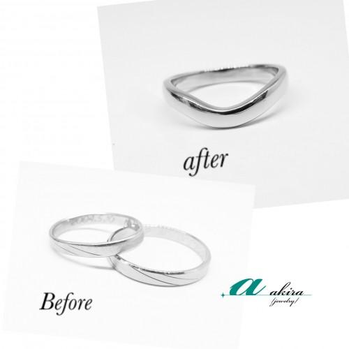 旭市から御来店のお客様の結婚指輪