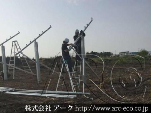 [更別村」工事中太陽光発電現場情報を更新!