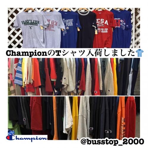 ChanpionのTシャツ入荷しました!