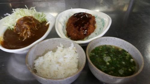 掛川グルメ とろろ本丸の賄い料理