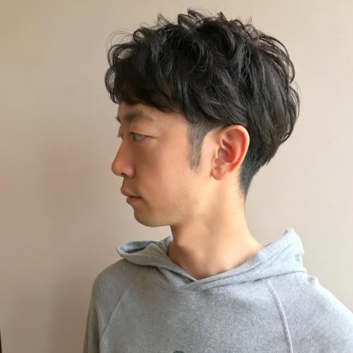 メンズカット ツーブロ ヘアスタイル 韓流