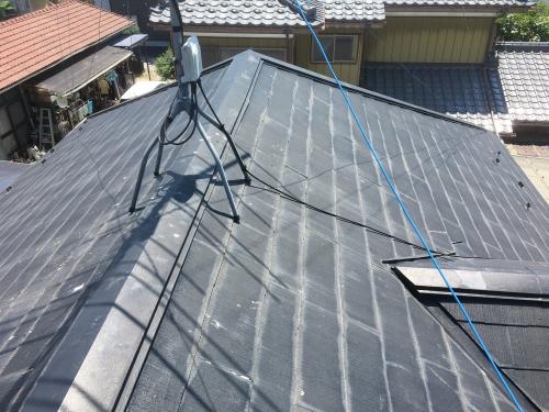 埼玉県白岡市にて屋根塗装工事