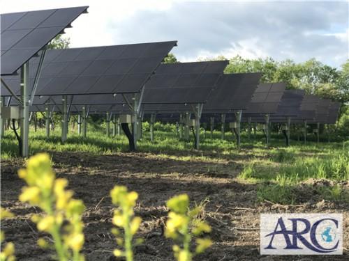 ソーラーフロンティア製CIS太陽電池モジュール続々施工実績