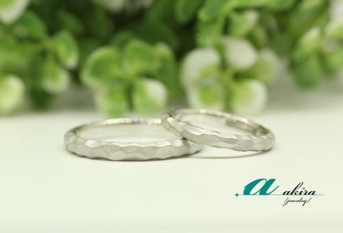 浦安市からご来店頂きましたお客様の結婚指輪