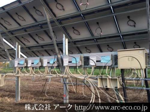 [長万部町」工事中太陽光発電現場情報を更新!