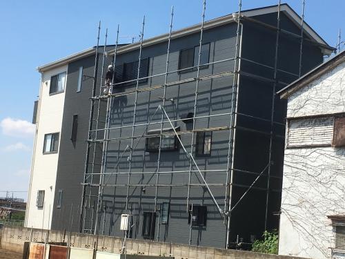 埼玉県富士見市屋根外壁塗装完工