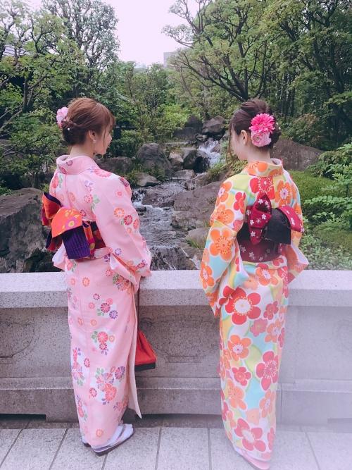 6月です。レンタル浴衣着付け始めました❢さくらベール浅草店