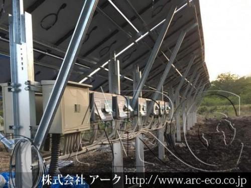 [登別市」工事中太陽光発電現場情報を更新!