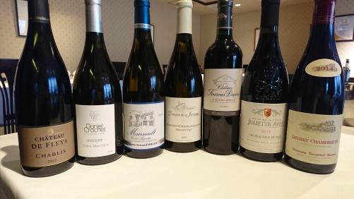 フランスワインも多少ご用意してます。