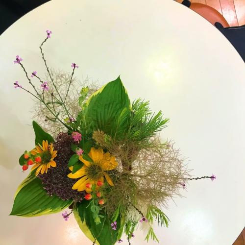 ティートリーの花