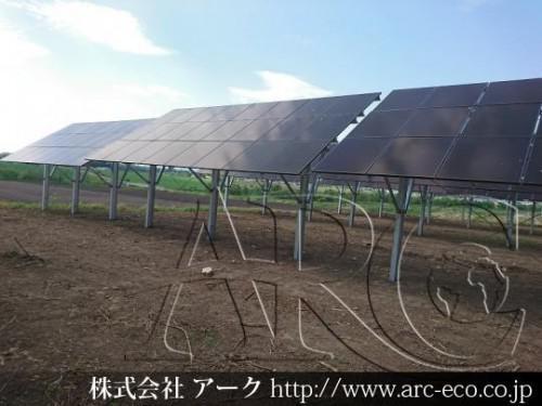 [士幌町」工事中太陽光発電現場情報を更新!