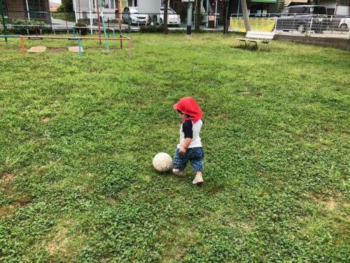サッカー選手!!  秋津 託児所