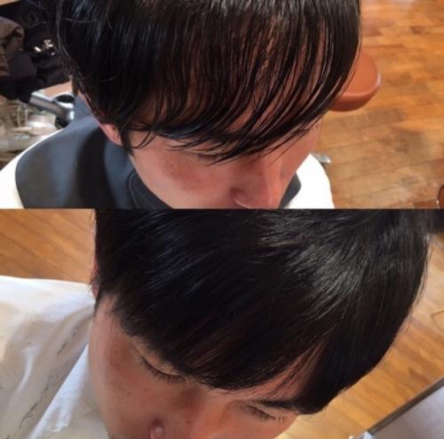 【前髪のクセでお悩みの方必見】前髪ストレートで朝の時短