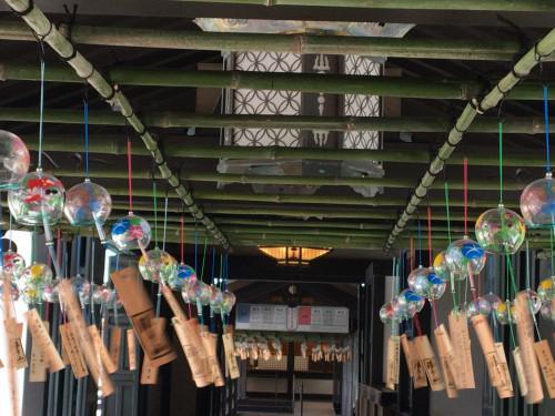 遠州三山風鈴祭りが行われているの法多山に行ってきました。