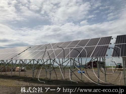 [岩見沢市」工事中太陽光発電現場情報を更新!