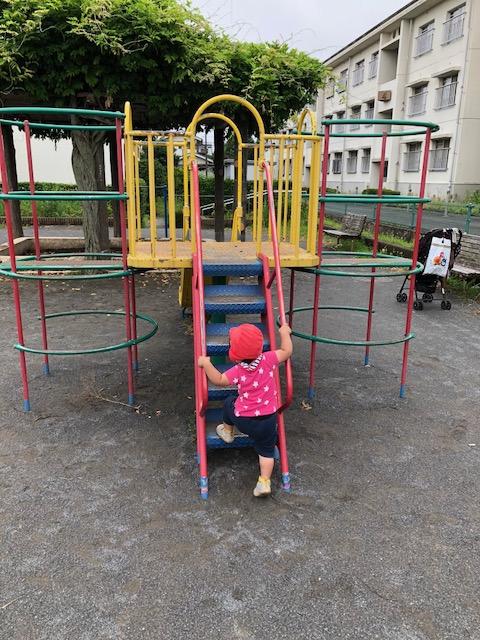 すべり台公園♪♪  秋津・所沢 託児所