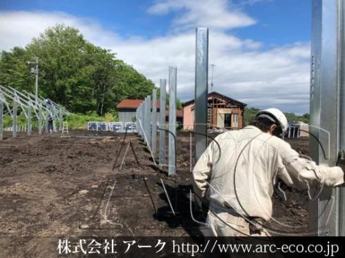 [清水町」工事中太陽光発電現場情報を更新!