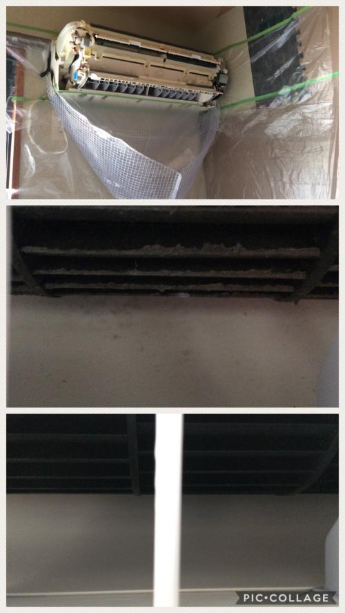 練馬でお掃除機能付きエアコンのクリーニング