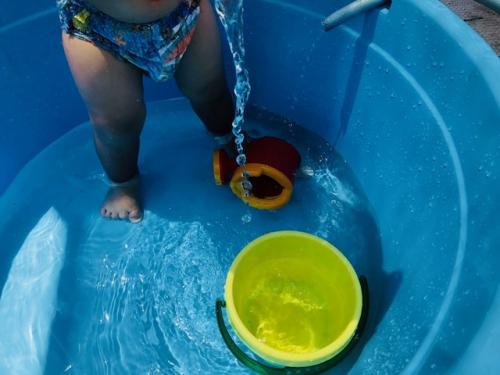 水遊び☆  託児所  一時預かり・月極保育
