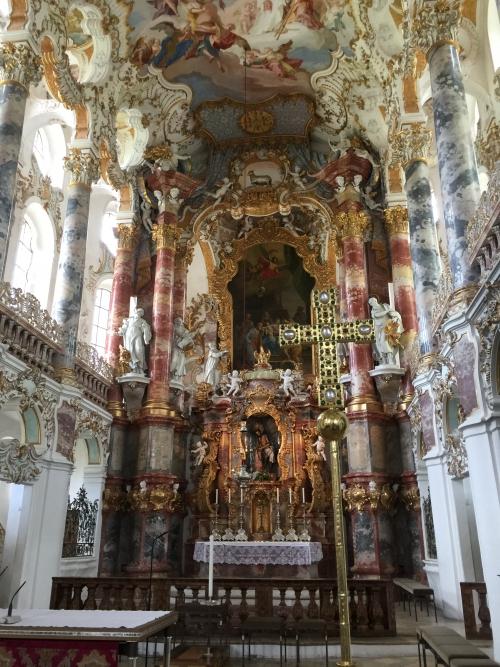 ドイツ、世界遺産ヴィース教会、イエス・キリスト