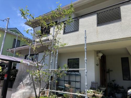 青葉区荏子田K様邸屋根塗装工事