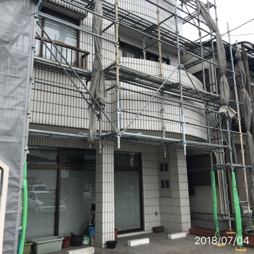足場組リフォーム名古屋