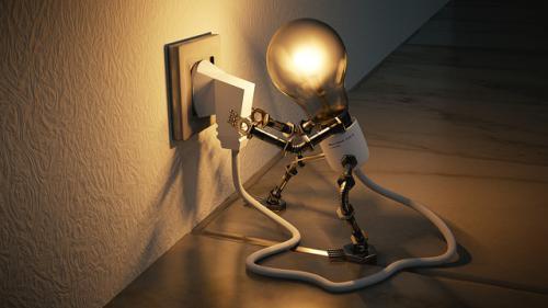 エネルギーが充電すると