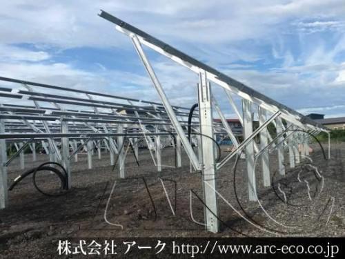 「えりも町」工事中太陽光発電現場情報を更新!