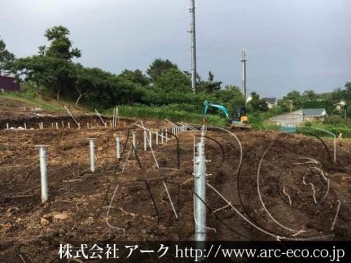 [函館市」工事中太陽光発電現場情報を更新!