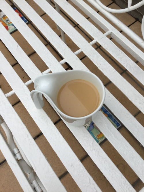 早起きのコーヒー