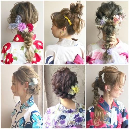 夏のキャンペーン☆ 浴衣 着付け ヘアセット