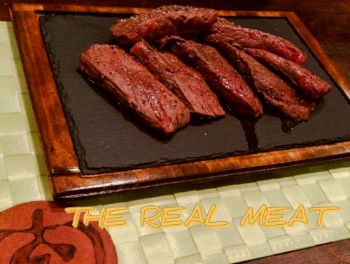 ジ リアル ミート『 ・・・何肉』?!馬?