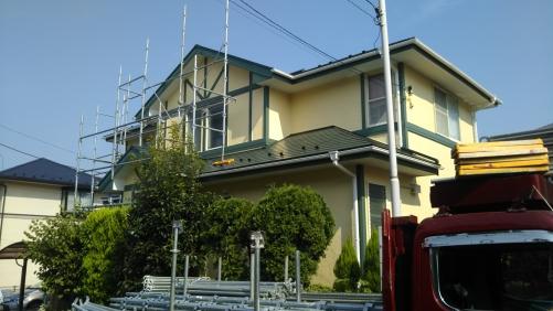 青葉区あかね台Y様邸屋根外壁塗り替え工事