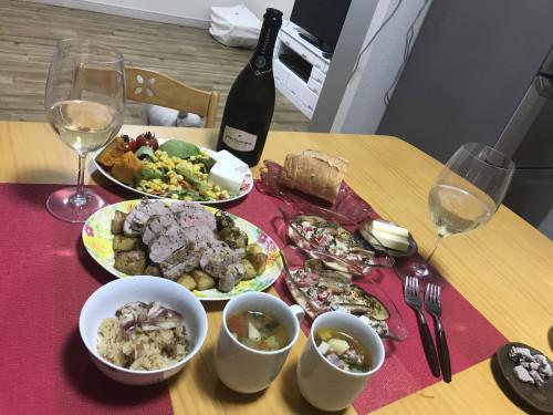 お盆休み~休みには美味しいお食事でカンパーイ♡~