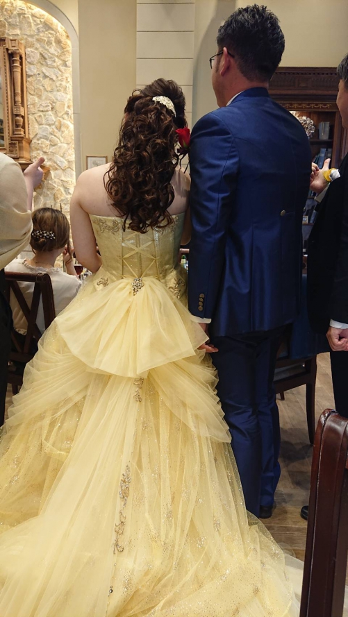 ブライダルハートコート花嫁❤