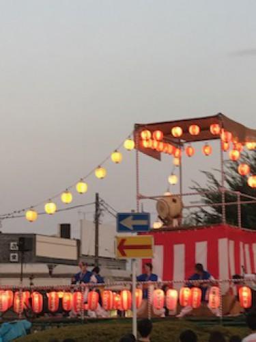 江戸川台の床屋プリンス 先週の祭り☆