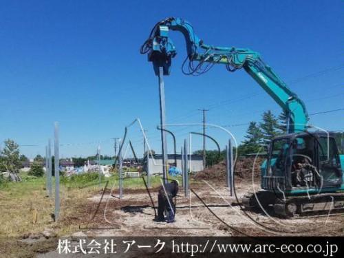 「清里町」工事中太陽光発電現場情報を更新!