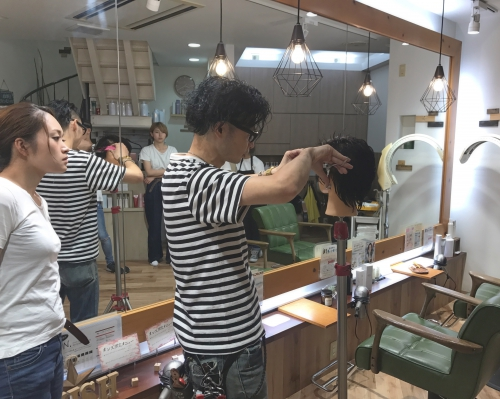 メンズ 刈り上げ ヘア  調布美容院