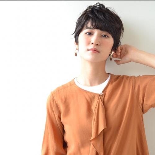 大人のハンサムショートヘア〜フロント編☆