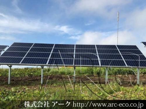 「稚内市」工事中太陽光発電現場情報を更新!