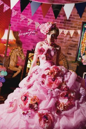 横浜人気ブランドアンテプリマの貸しウェディングドレスなら