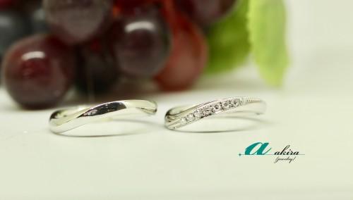 松戸市から結婚指輪のオーダーメイド