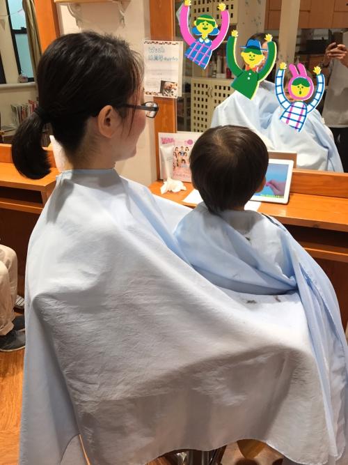 子連れ 子供カット  調布美容院