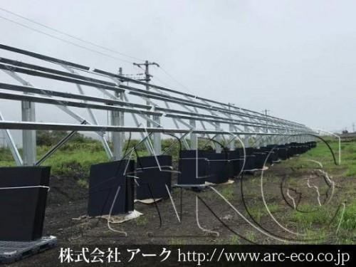 「白糠町」工事中太陽光発電現場情報を更新!